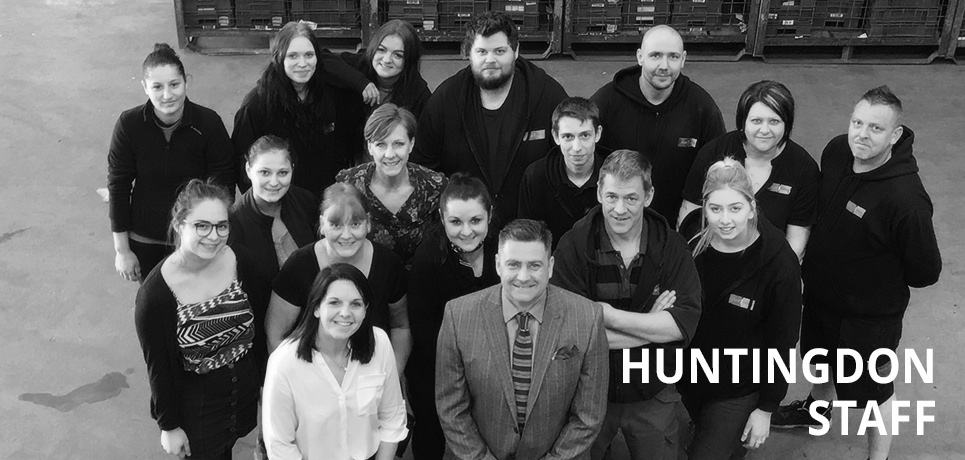 First Mailing Huntingdon Team